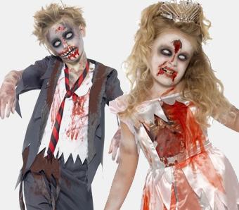 Zombie-Kostüme für Kinder
