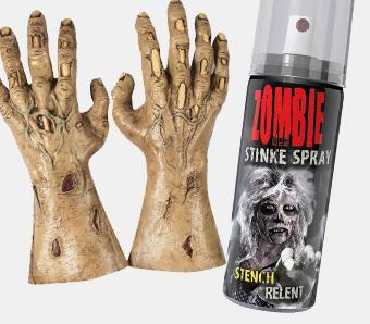 Zombiekostüm-Zubehör