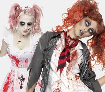Zombiekostüme für Damen