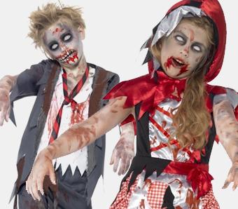 Zombiekostüme für Kinder