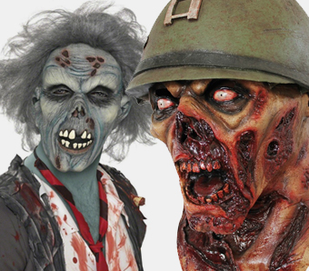 Zombie-Masken