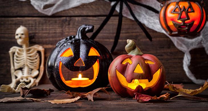 Gruselige Halloween-Deko - Tipps für deine Party