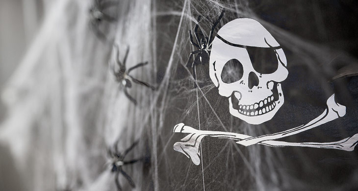 Halloween Deko-Tipp: Gierige Geister-Piraten