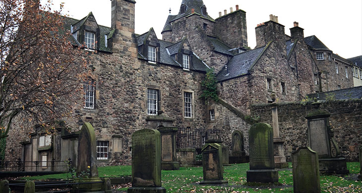 Die gruseligsten Orte der Erde – Greyfriars Kirkyard Edinburgh