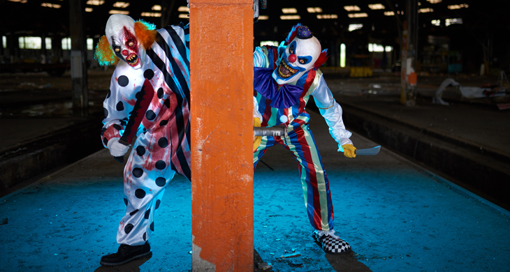 Wer hat Angst vorm Killer-Clown? Alles über Horrorclowns