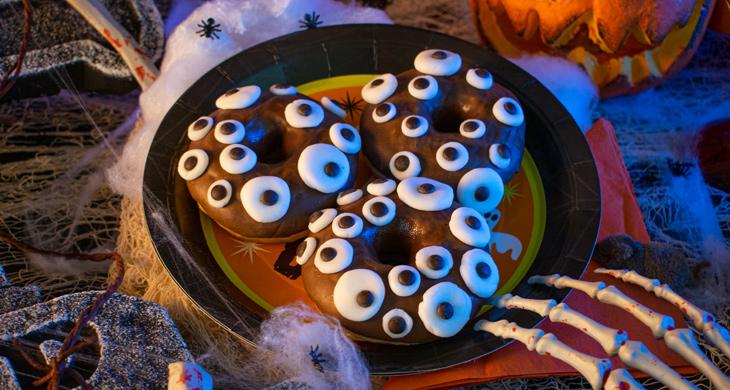 Augen-Donuts – ein einfaches Halloween-Rezept