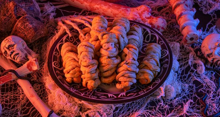Halloween-Rezept: Wurstmumien