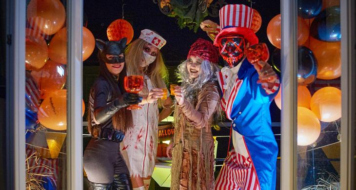 Tolle Ideen für deine Halloween-WG-Party