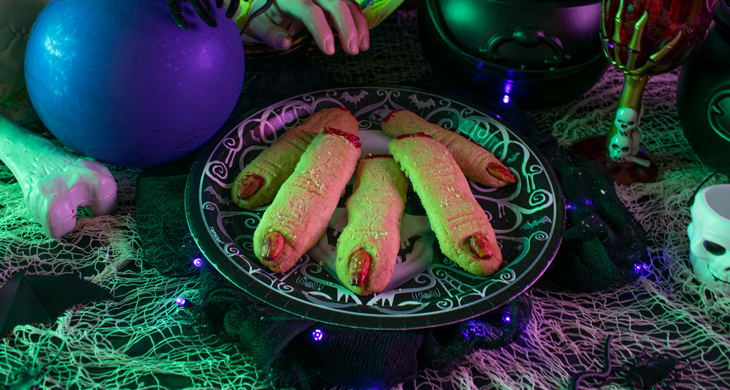 Halloween-Rezept: Leckere Hexen-Finger-Kekse