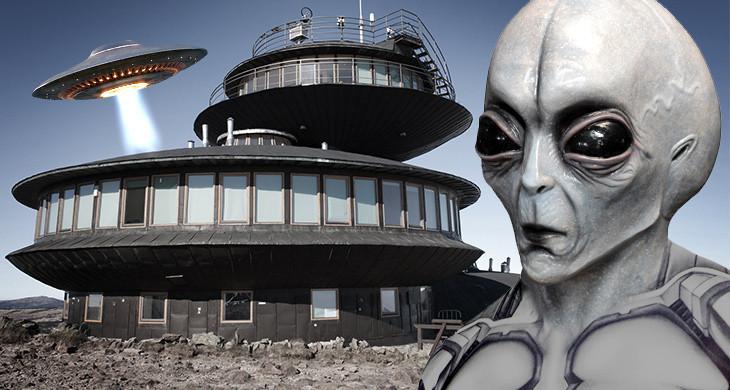 Was  hat es mit dem Alien-Bunker der Scientology auf sich?