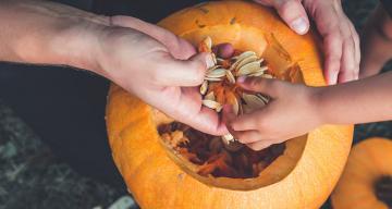 Kürbisschnitzen leicht gemacht: 7 Schnitzvorlagen für Halloween