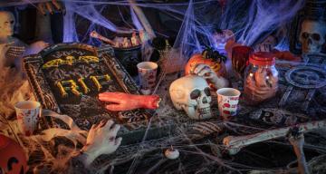 Halloween zuhause feiern: Halloween-Deko für deine Party